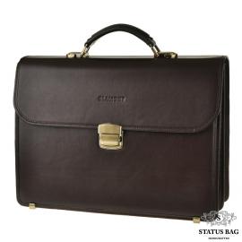 Мужской кожаный портфель Blamont Bn048C