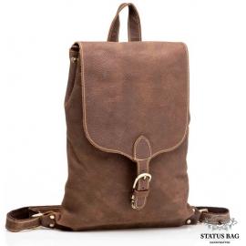 Рюкзак кожаный Tiding Bag G8896C