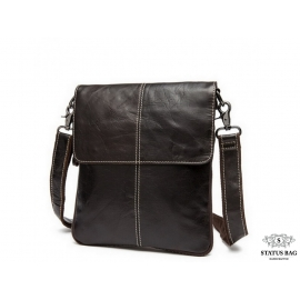 Мужская кожаная сумка чреез плечо мессенджер Bexhill BX8005C