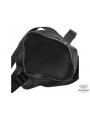 Сумка через плечо мужская кожаная черная Tiding Bag 9836A фото №4