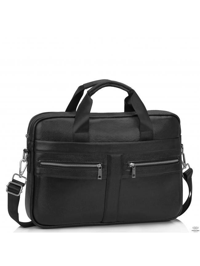 Кожаная сумка для ноутбука мужская Tiding Bag A25-1120A