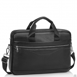 Мужская кожаная сумка для ноутбука Tiding Bag A25-1128-1A