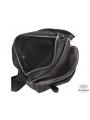 Сумка через плечо мужская черная Tiding Bag A25F-6625A фото №4