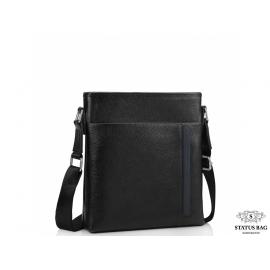 Мужская сумка через плечо натуральная кожа Tiding Bag A25F-9913-3A