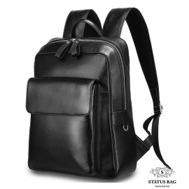 Кожаный рюкзак Tiding Bag B3-9452A