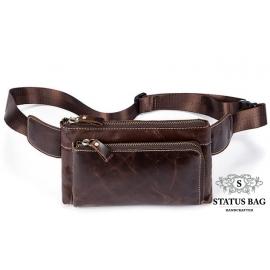 Кожаная сумка на пояс Bexhill Bx8900R