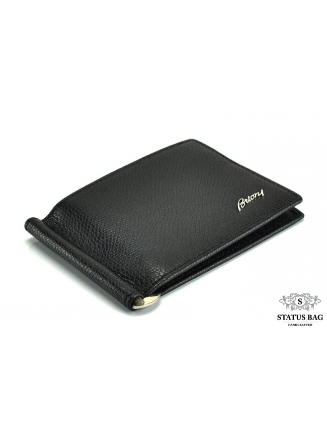 Кожаное портмоне-зажим Brioni BR05-3008