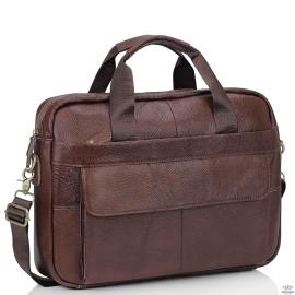 Кожаная сумка для ноутбука и документов Bexhill Bx1131B