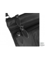 Мужская кожаная сумка через плечо черная маленькая Tiding Bag Bx124A фото №5