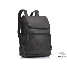 Мужской коричневый кожаный рюкзак Tiding Bag M35-1017B