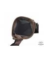 Мужская кожаная сумка через плечо коричневая Tiding Bag M35-703B фото №4