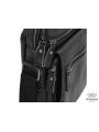 Мужская кожаная сумка-барсетка на плечо черная Tiding Bag M35-8852A фото №5