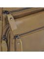 Мужская кожаная сумка через плечо коричневая Tiding Bag M35-8852LB фото №6