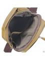 Мужская кожаная сумка через плечо коричневая Tiding Bag M35-8852LB фото №5