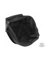 Сумка через плечо мужская черная Tiding Bag M35-9012A фото №4