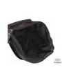 Сумка через плечо мужская коричневая Tiding Bag M35-9012B фото №4