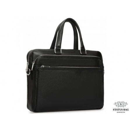 Мужская кожаная деловая сумка для документов Royal Bag RB-010A-1