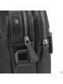 Сумка через плечо мужская черная Tiding Bag SM8-9039-4A фото №5