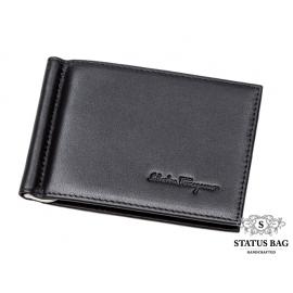 Кожаный зажим FERRAGAMO S-7006