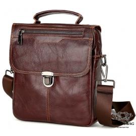 Мессенджер кожаный TIDING BAG A25-5567B