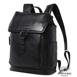 Кожаный рюкзак Tiding Bag B3-080A
