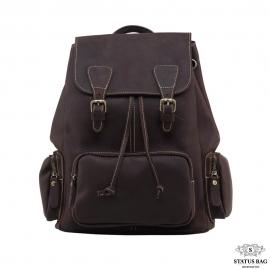 Кожаный рюкзак TIDING BAG GW9913B