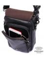 Сумка-барсетка мужская кожаная через плечо Tiding Bag 1012A фото №3