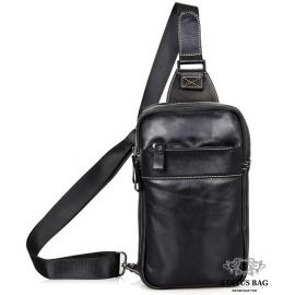 Кожаный рюкзак Tiding Bag 4002A