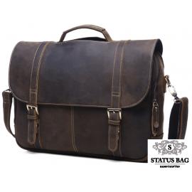 Мужской кожаный портфель TIDING BAG 6251R