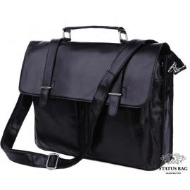 Портфель мужской кожаный для документов Tiding Bag 7013A