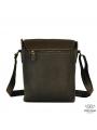 Мужская сумка-мессенджер через плечо из матовой винтажной кожи Tiding Bag 7055DB фото №7