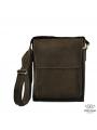 Мужская сумка-мессенджер через плечо из матовой винтажной кожи Tiding Bag 7055DB фото №5