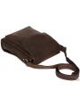 Мужская сумка-мессенджер через плечо из матовой винтажной кожи Tiding Bag 7055DB фото №4