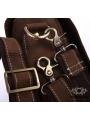 Сумка мужская кожаная через плечо для ноутбука Tiding Bag 7108R-1 фото №4