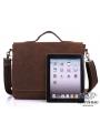 Сумка мужская кожаная через плечо для ноутбука Tiding Bag 7108R-1 фото №3
