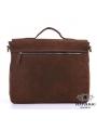 Сумка мужская кожаная через плечо для ноутбука Tiding Bag 7108R-1 фото №9