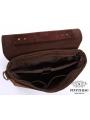 Сумка мужская кожаная через плечо для ноутбука Tiding Bag 7108R-1 фото №7