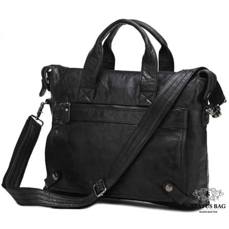 Оригинальня мужская кожаная сумка для документов Jasper & Maine 7120A