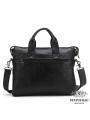 Оригинальня мужская кожаная сумка для документов Jasper & Maine 7120A фото №6