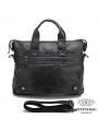 Оригинальня мужская кожаная сумка для документов Jasper & Maine 7120A фото №5