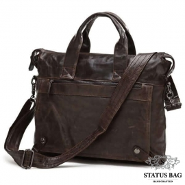 Мужская кожаная сумка с отделением для ноутбука Jasper & Maine 7120C