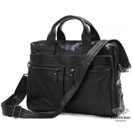 Мужская кожаная сумка для документов Jasper & Maine 7122A