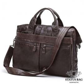 Модная мужская деловая сумка А4 кожа Jasper&Maine 7122C
