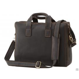 Молодежная кожаная сумка кэжуэл Tiding Bag 7167A