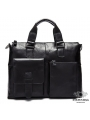 Сумка-портфель мужская деловая для ноутбука и документов Tiding Bag 7264A фото №12