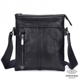 Сумка через плечо мужская кожаная Tiding Bag 80261A