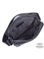 Сукма мужская кожаная через плечо черная Tiding Bag 8716A фото №9