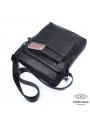 Сукма мужская кожаная через плечо черная Tiding Bag 8716A фото №8