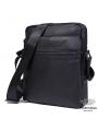 Сукма мужская кожаная через плечо черная Tiding Bag 8716A фото №4
