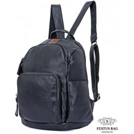 Рюкзак кожаный Tiding Bag 88101A